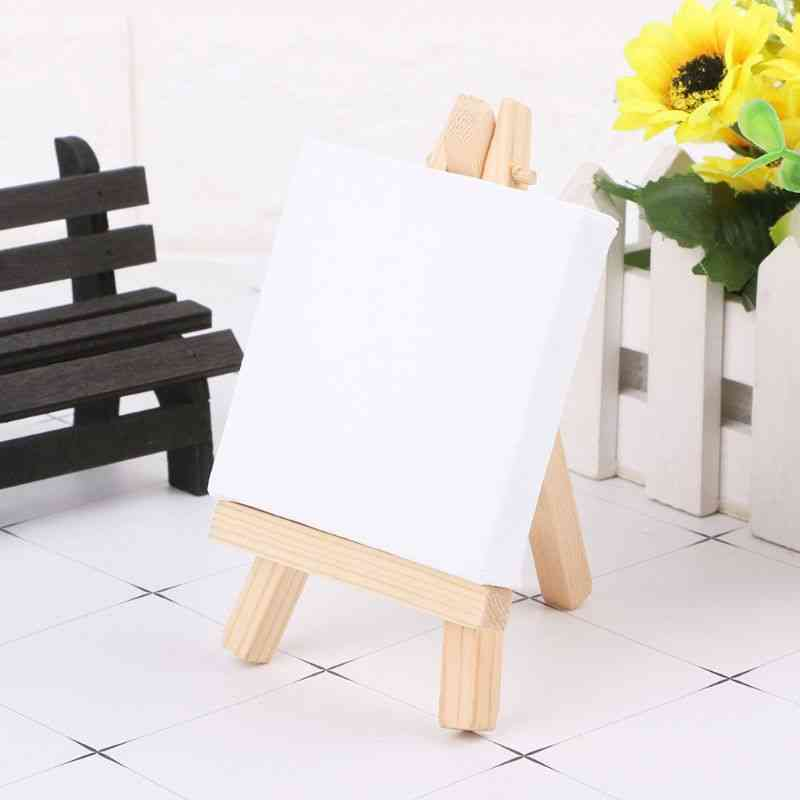 Natural Wood Easel Frame, Tripod Display, Meeting, Wedding Table Number, Name, Card Stand Holder, Painting Craft
