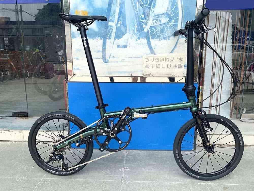 Fnhon Gust Cr-mo Steel Folding Bike 16