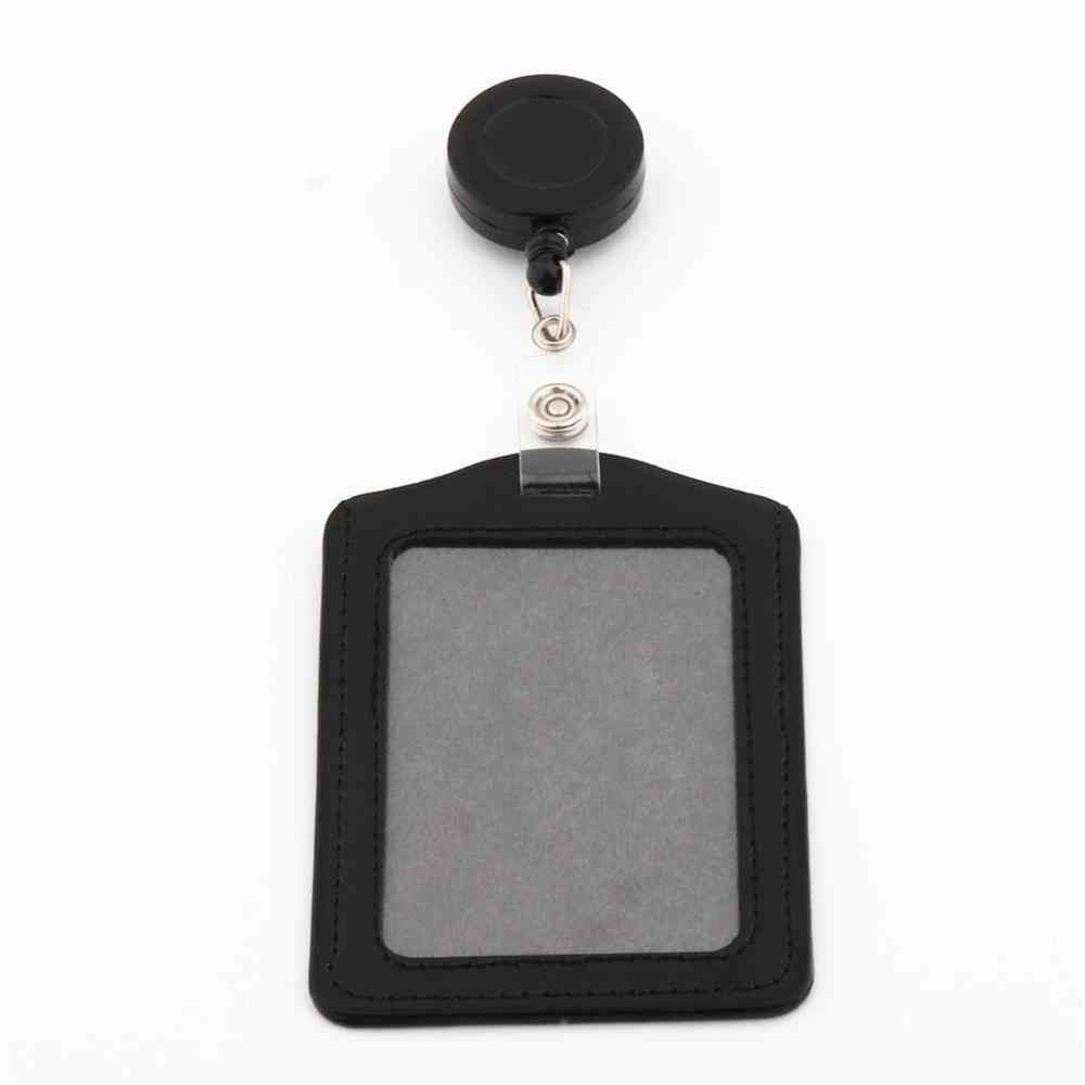 620 Horizontal Of Vertical Card Sleeve Card Badge Holder