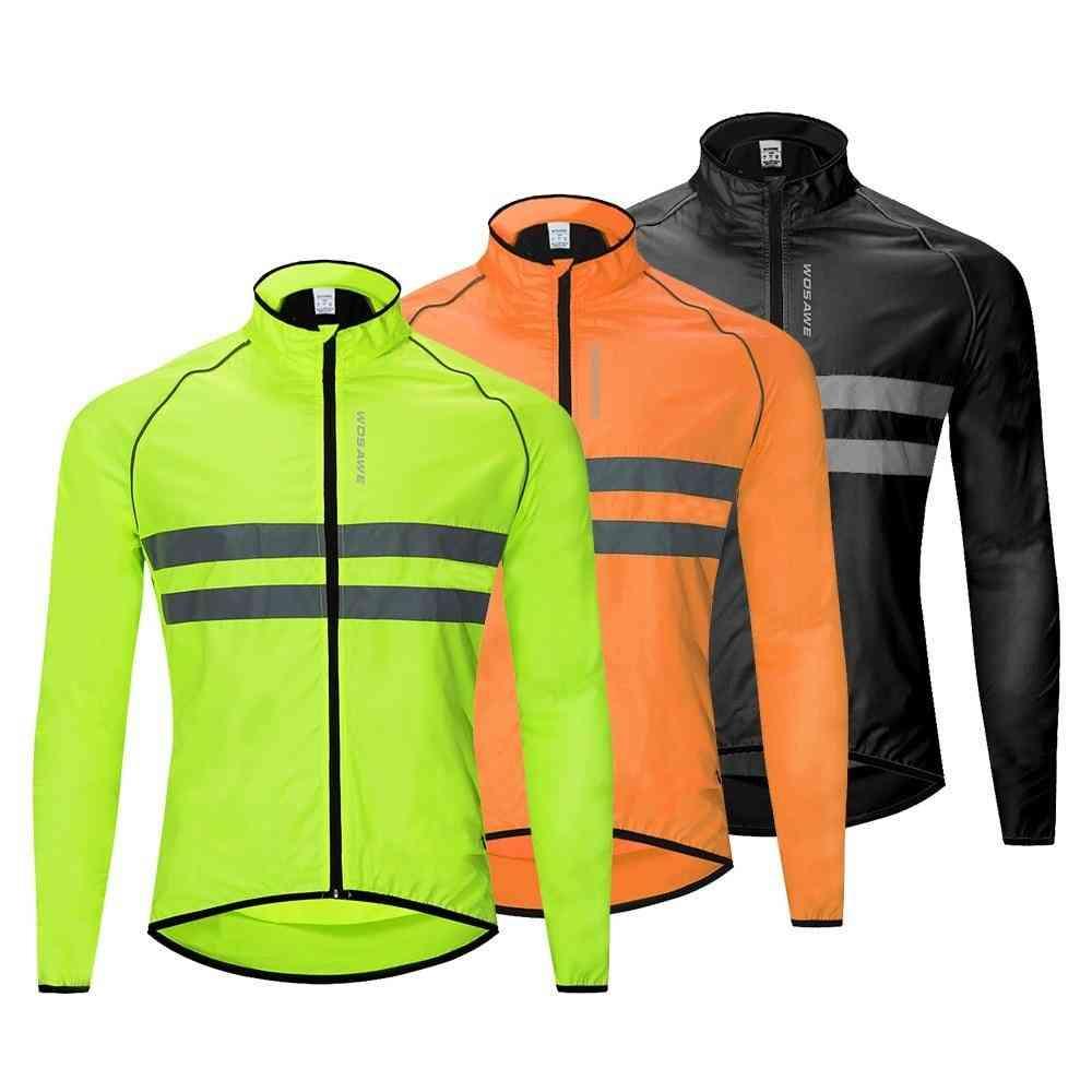Ultralight Reflective Men's Cycling Jacket Long