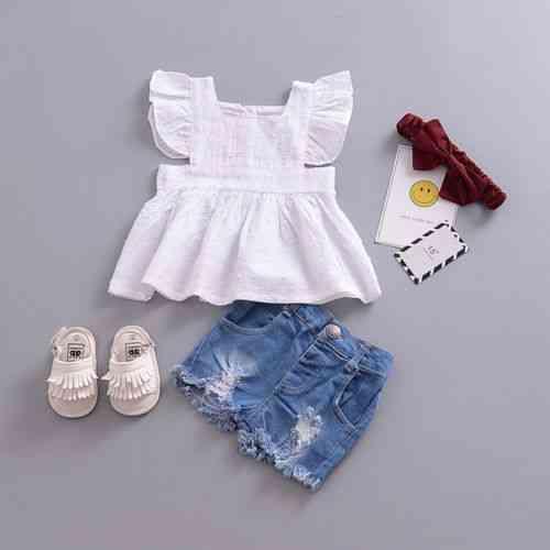Newborn Kid Baby Girl Clothes, Princess Ruffle Top Blouse T-shirt