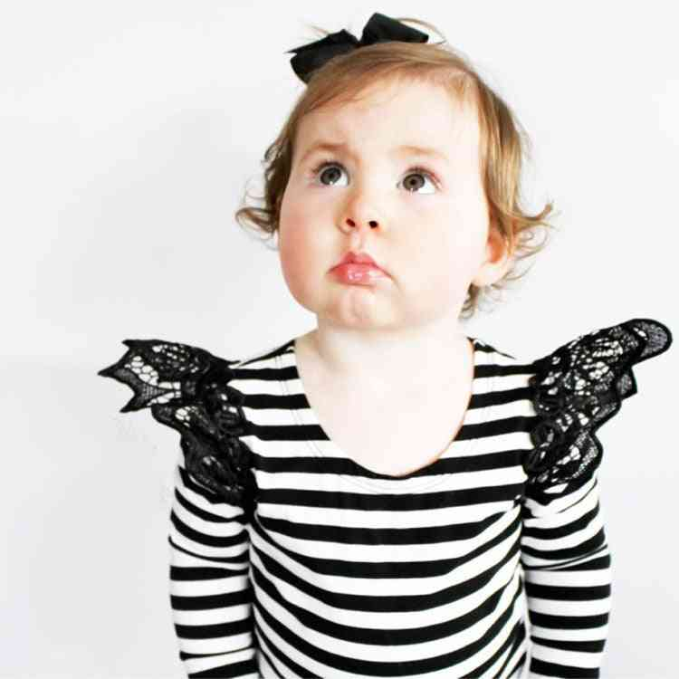 Baby T-shirts For, Lace Long Sleeve Tops
