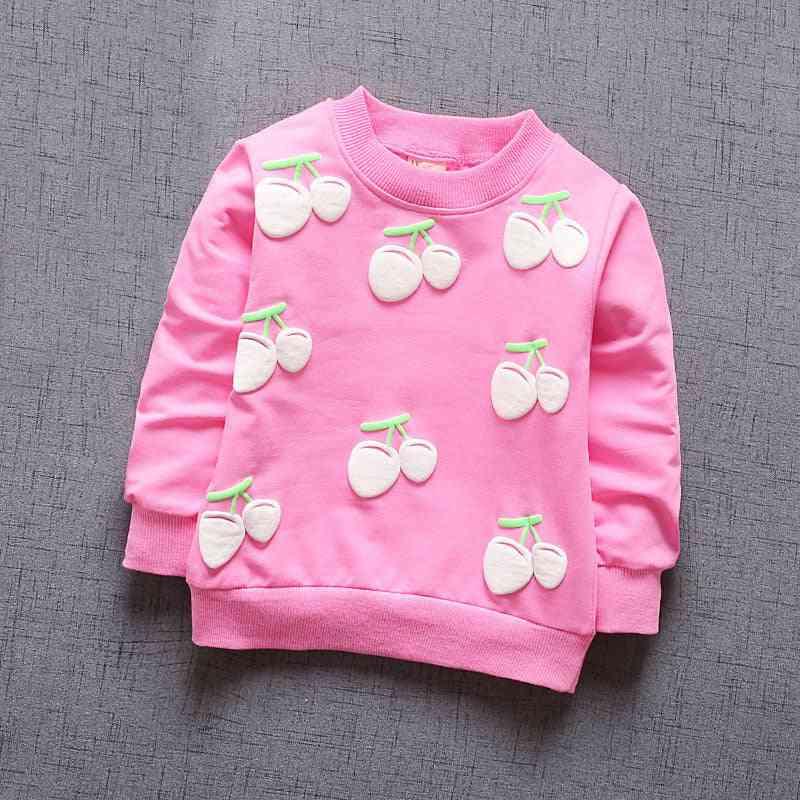 New Baby Clothing, Cherry Long Sleeve T-shirt