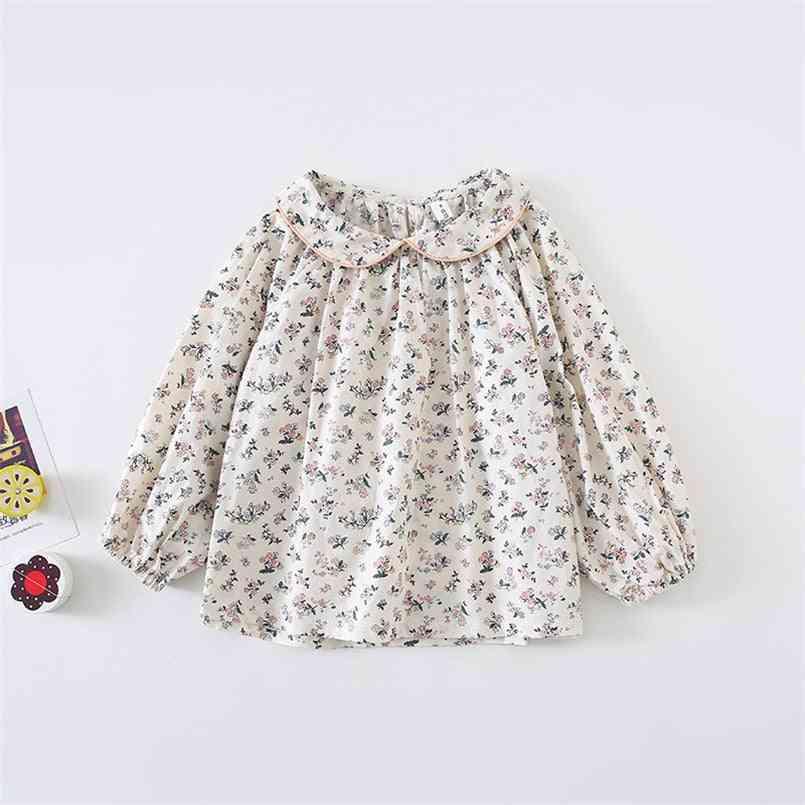 Baby Girl's Blouse, Long Sleeve Princess Girls Shirt