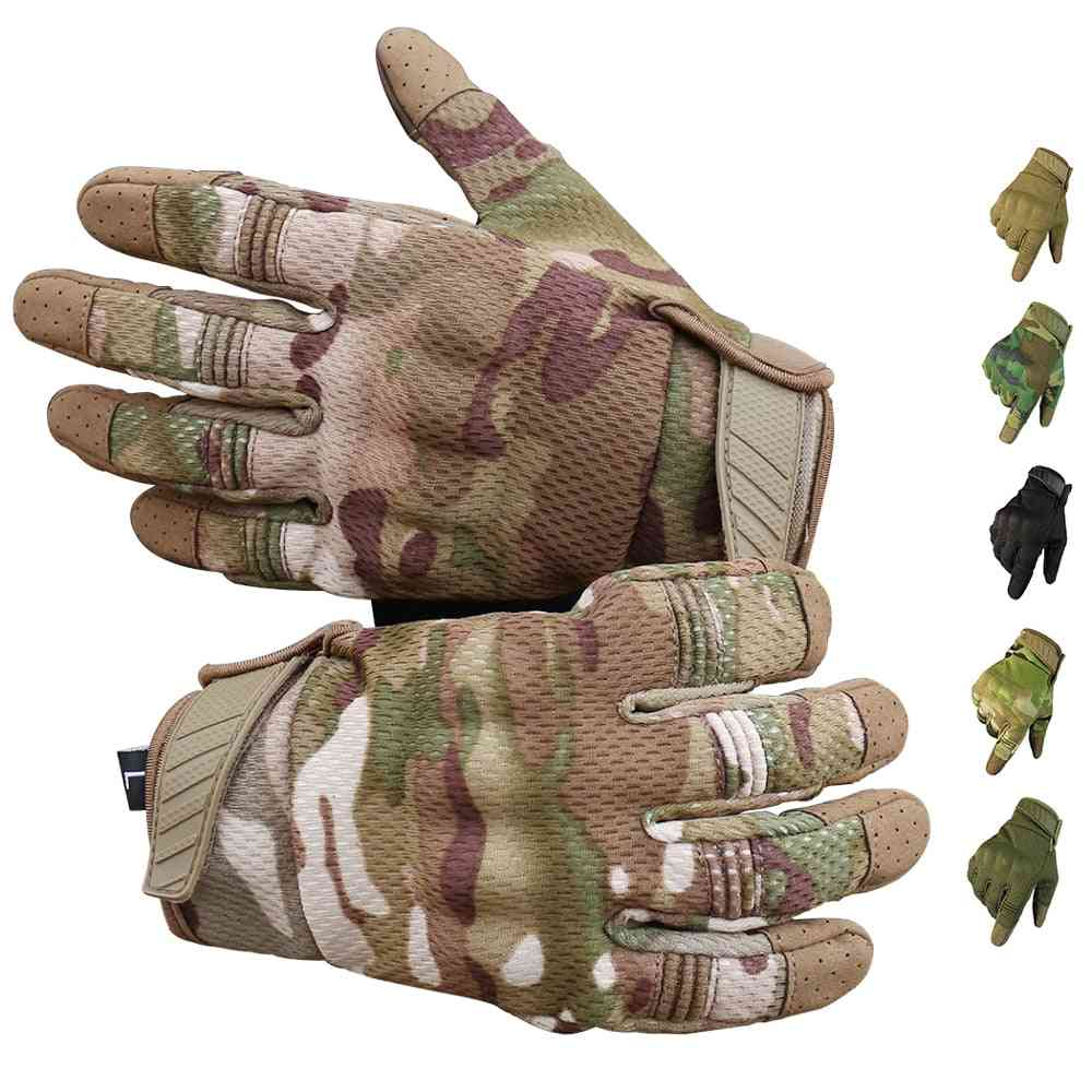 Men Riding Gloves Cycling Bike Full Finger Moots Racing Gloves
