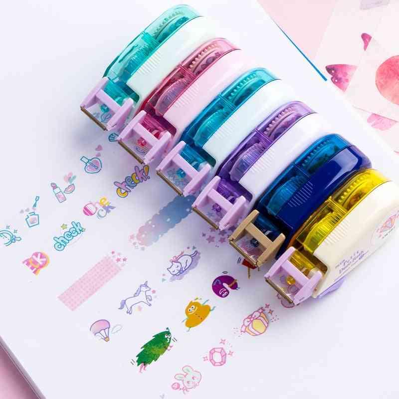Unicorn Travelling Decorative Pen Correction Tape