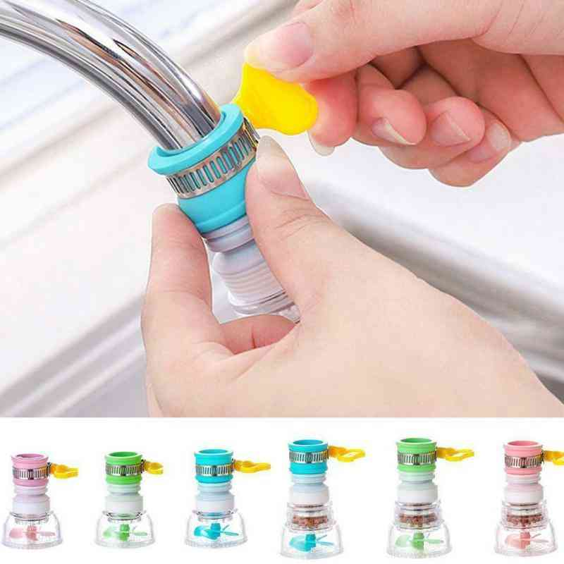 Household Water Purifier Filter Sprayer Filtration Universal Kitchen Faucet Water Tap Heads 360 Degree Rotating
