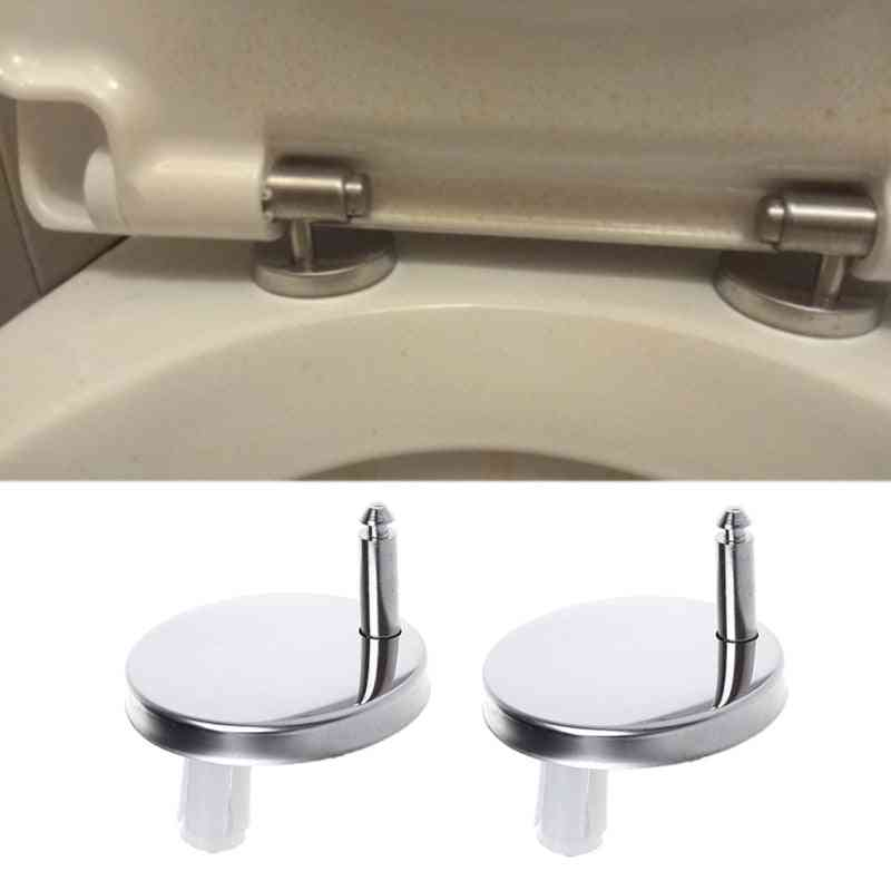 Top Fix Wc Toilet Seat Hinges Fittings Quick Release Hinge Screw