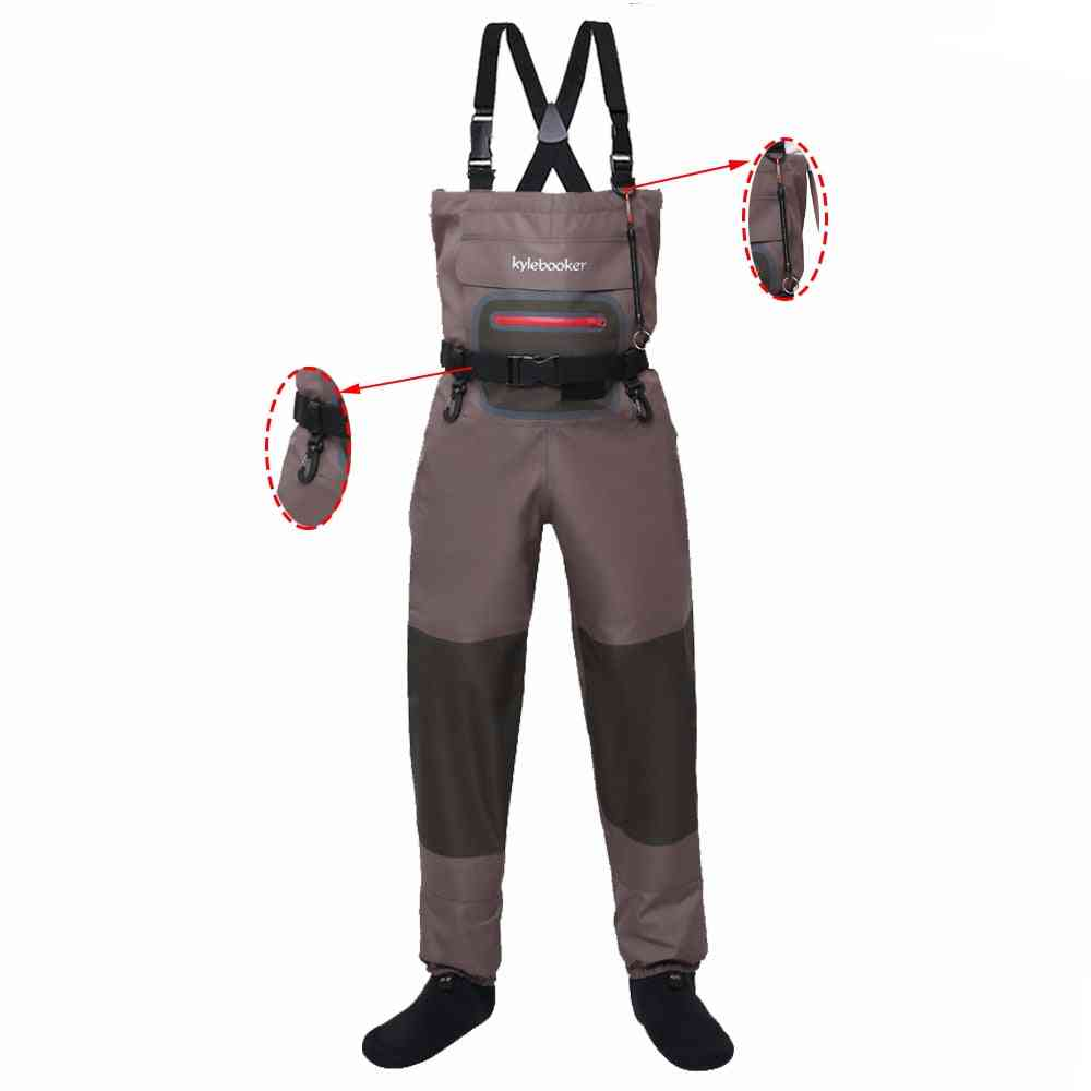 Fly Fishing Hunting Chest Outdoor Wading Pants