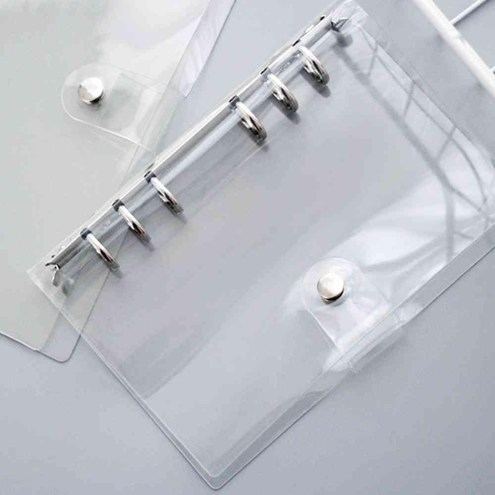 Soft Pvc Binder Loose Leaf Notebook Cover Folder Protector