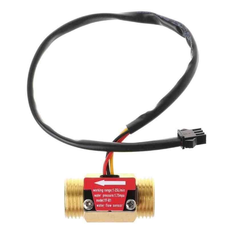 Water Flow Hall Sensor Switch Flow Meter
