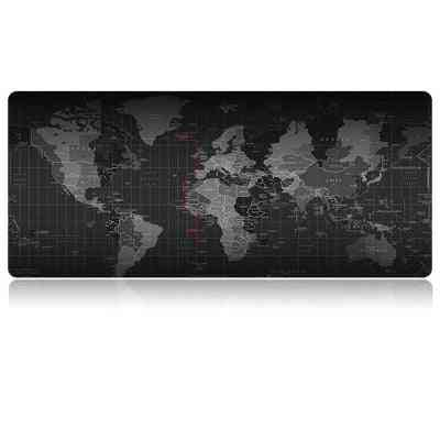 Gaming Mouse Pad New World Map Large Mouse Pad