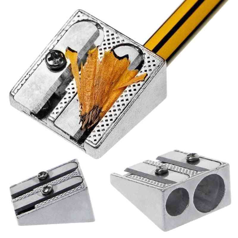 Double-hole Metal, Pencil Sharpener For School Office