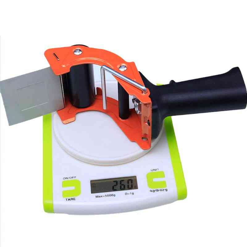Portable Sealing Tape, Gun Dispenser, Cutter Handheld Packer, Holder Machine