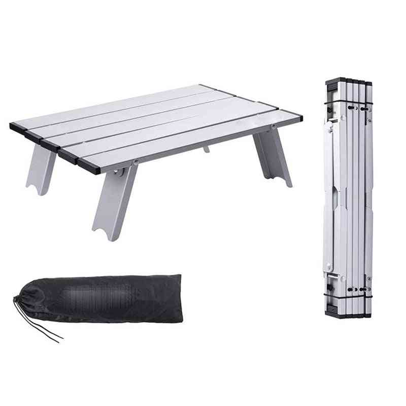 Mini Portable Table With Carry Bag Lightweight Mini Foldable Picnic Desk