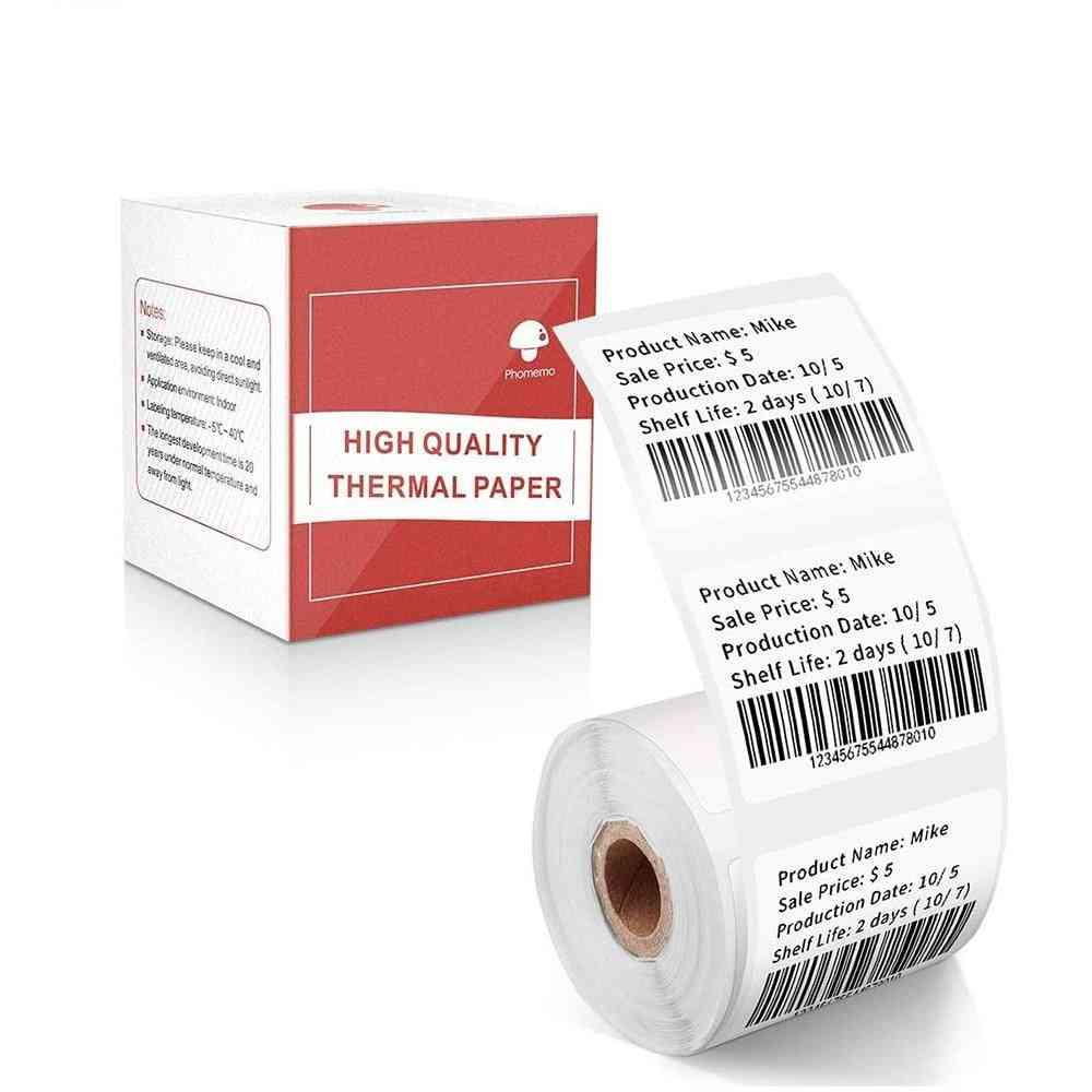 Self-adhesive Label  / Printable Sticker Labels Paper Rolls