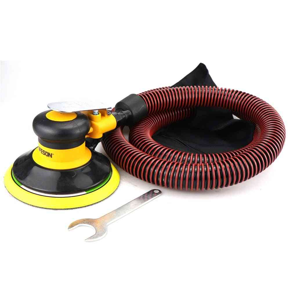 Air Sander Polisher With Vacuuming 6'' 150mm Car Paint Care Tool