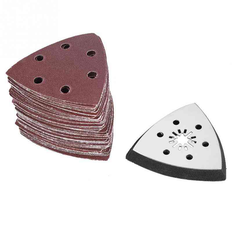 Holes Triangle Sanding Pad Sand Paper