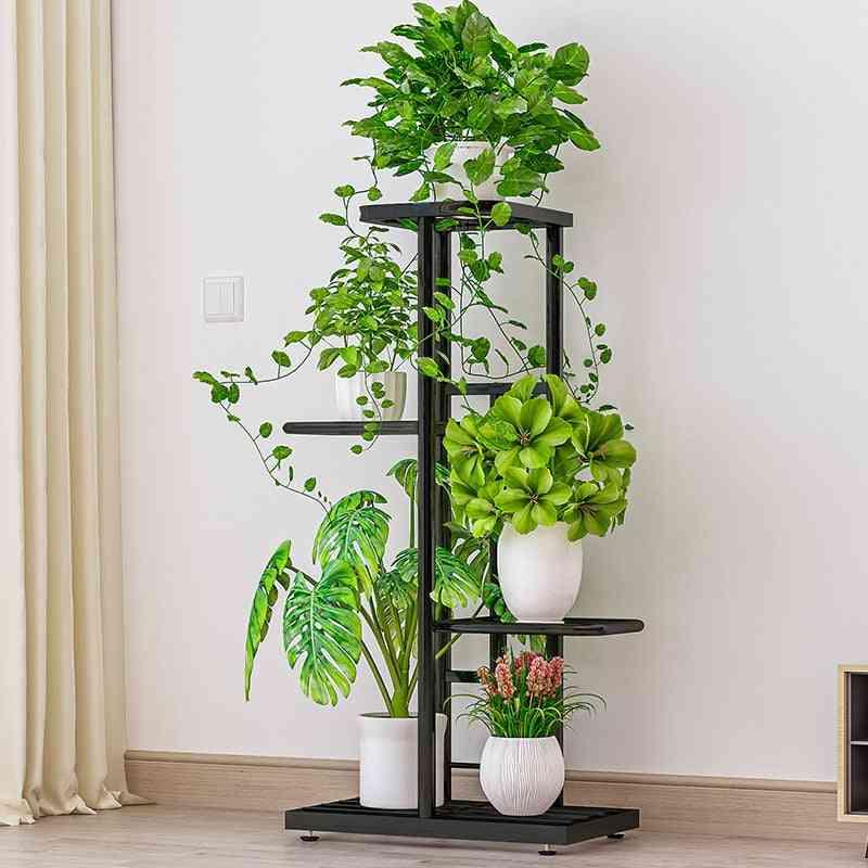 Rack Storage Organizer Display For Indoor Garden Balcony
