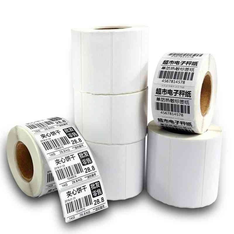 Coated Thermal Stickers Rolls For Zebra Thermal Printer