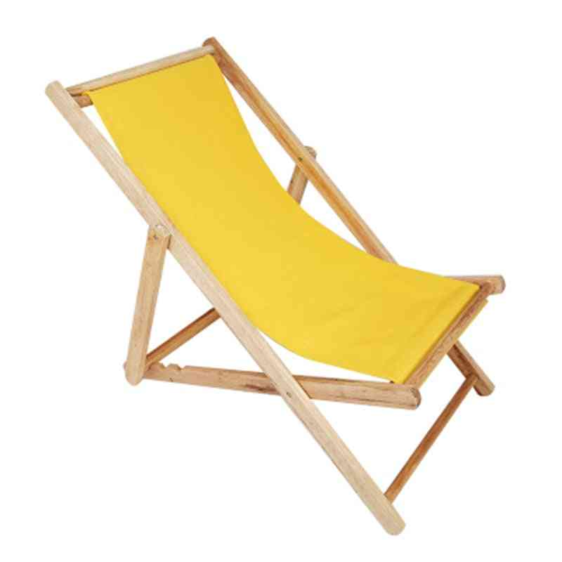 Solid Wood Outdoor Portable Sun Lounger
