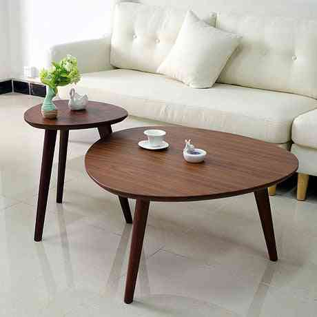 Solid Wood Triangle Coffee Table