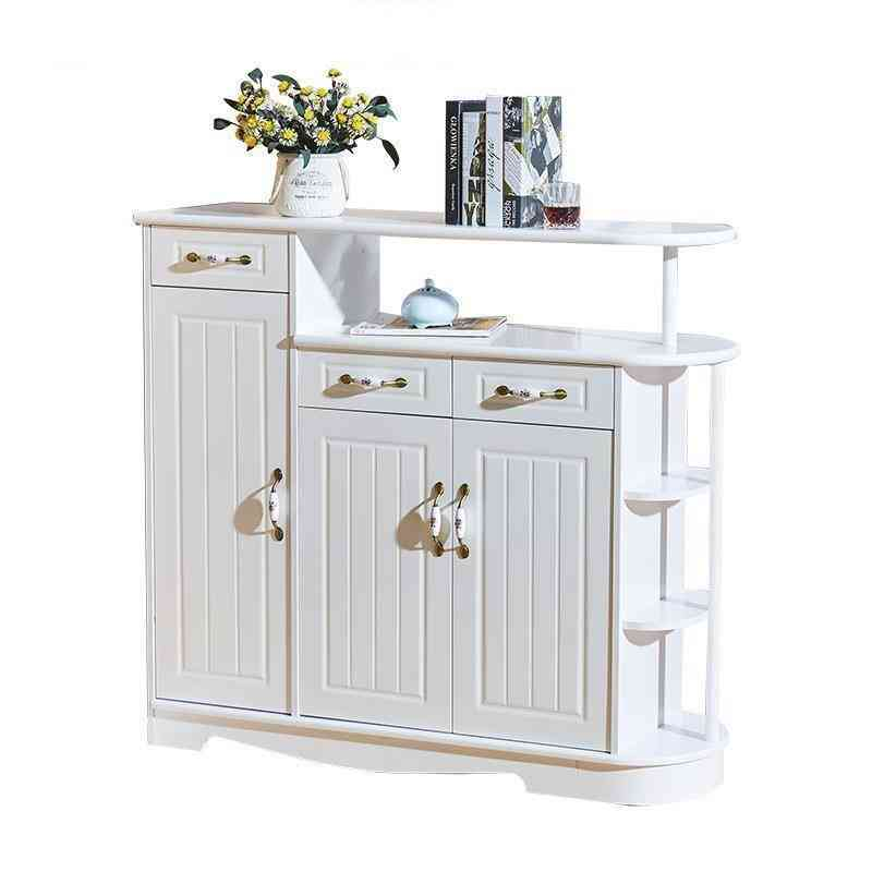 Living Room Table Storage Shelf Rack Commercial Furniture Wine Cabinet