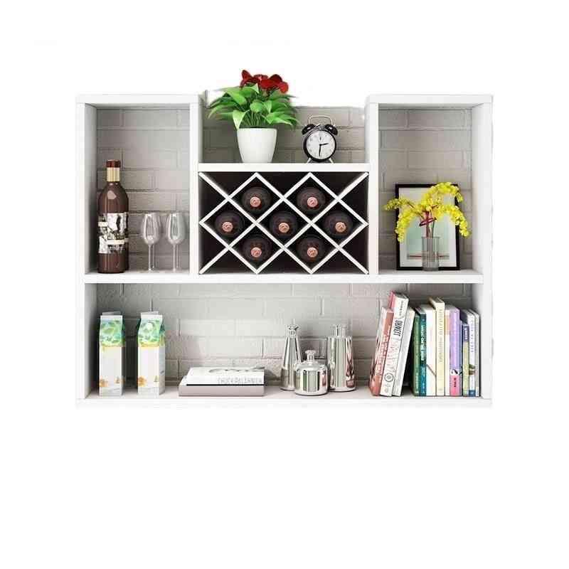 Salon Meble Hotel Commercial Shelf Bar Furniture Wine Cabinet