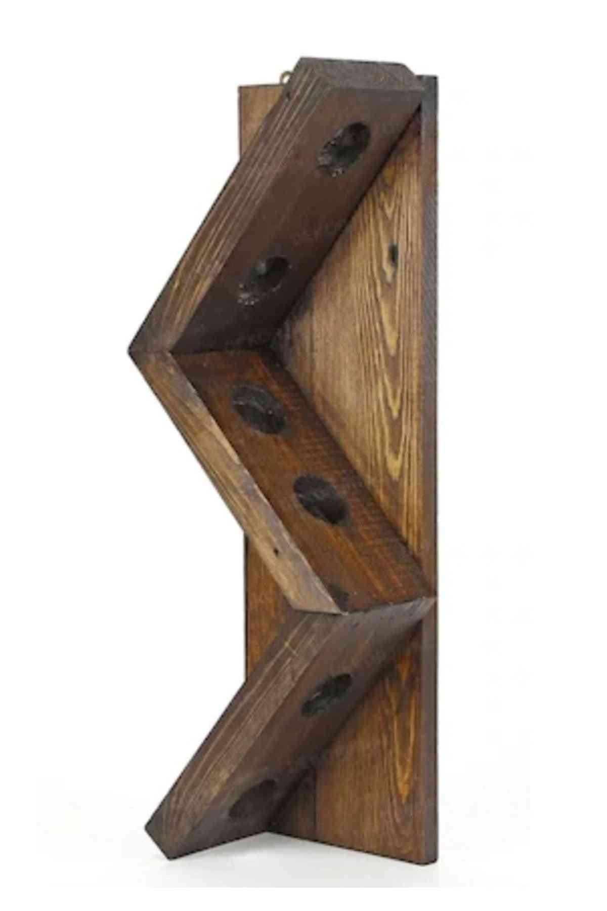 Wine Rack Stand Wooden Shelf Organizer Storage
