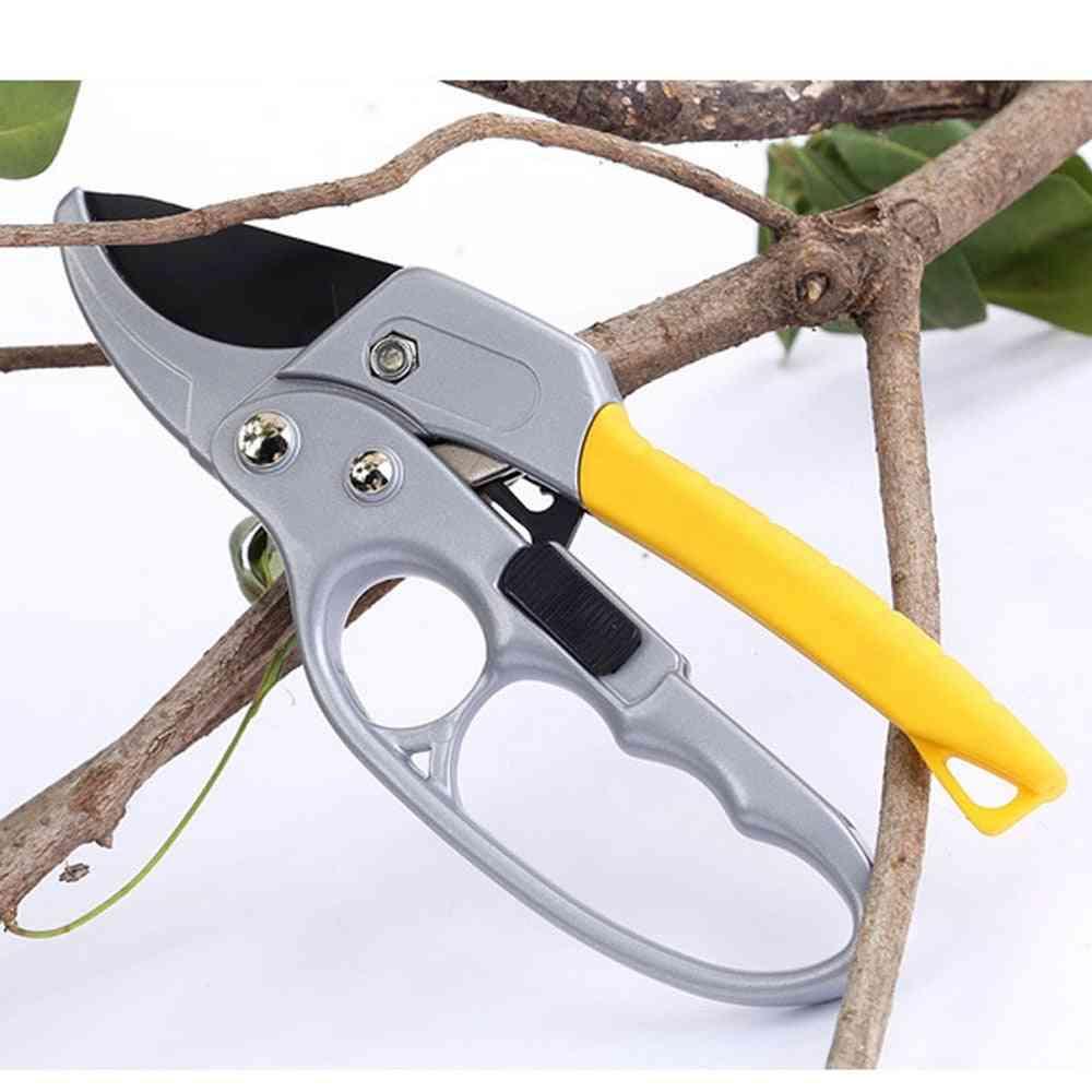 Garden Pruner Shears, High Carbon Steel Scissors, Handheld Gardening Tools