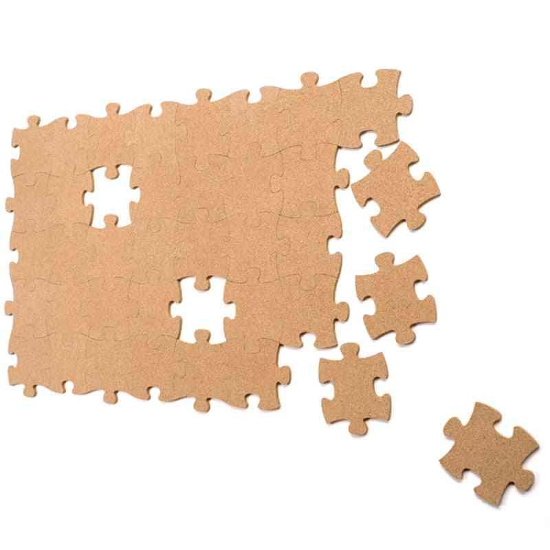 Cork Wood Phellem Wall Jigsaw Puzzle