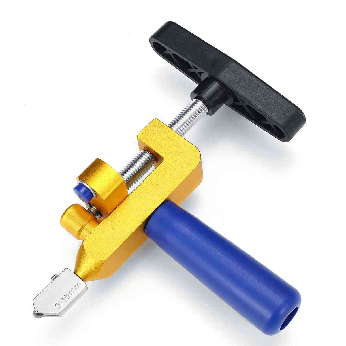 Glass Tile Cutter, 2 In 1 Ceramic Cutting, One-piece Portable Tool