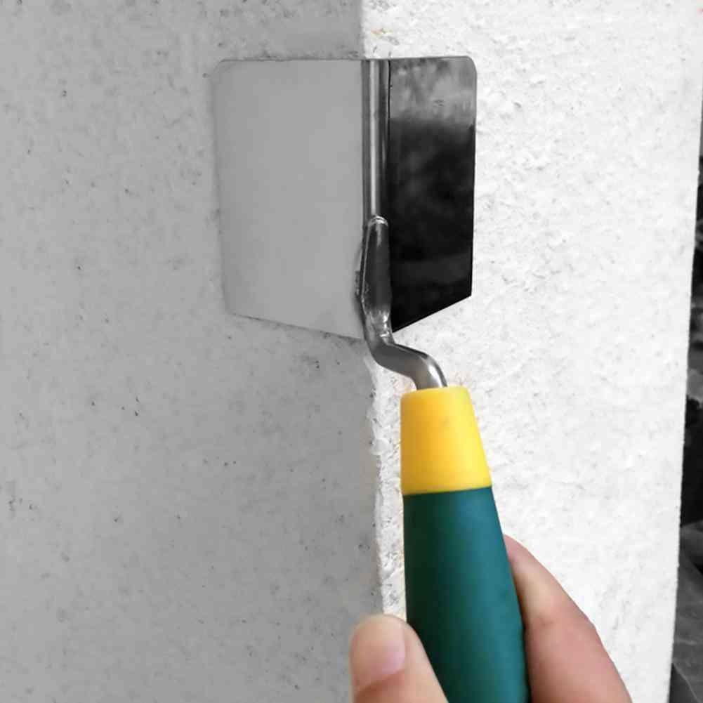 Drywall Corner Tool, Flexes For Perfect Corner, High Grade Stainless Steel Sheetrock, Trowel Ergonomic Grip
