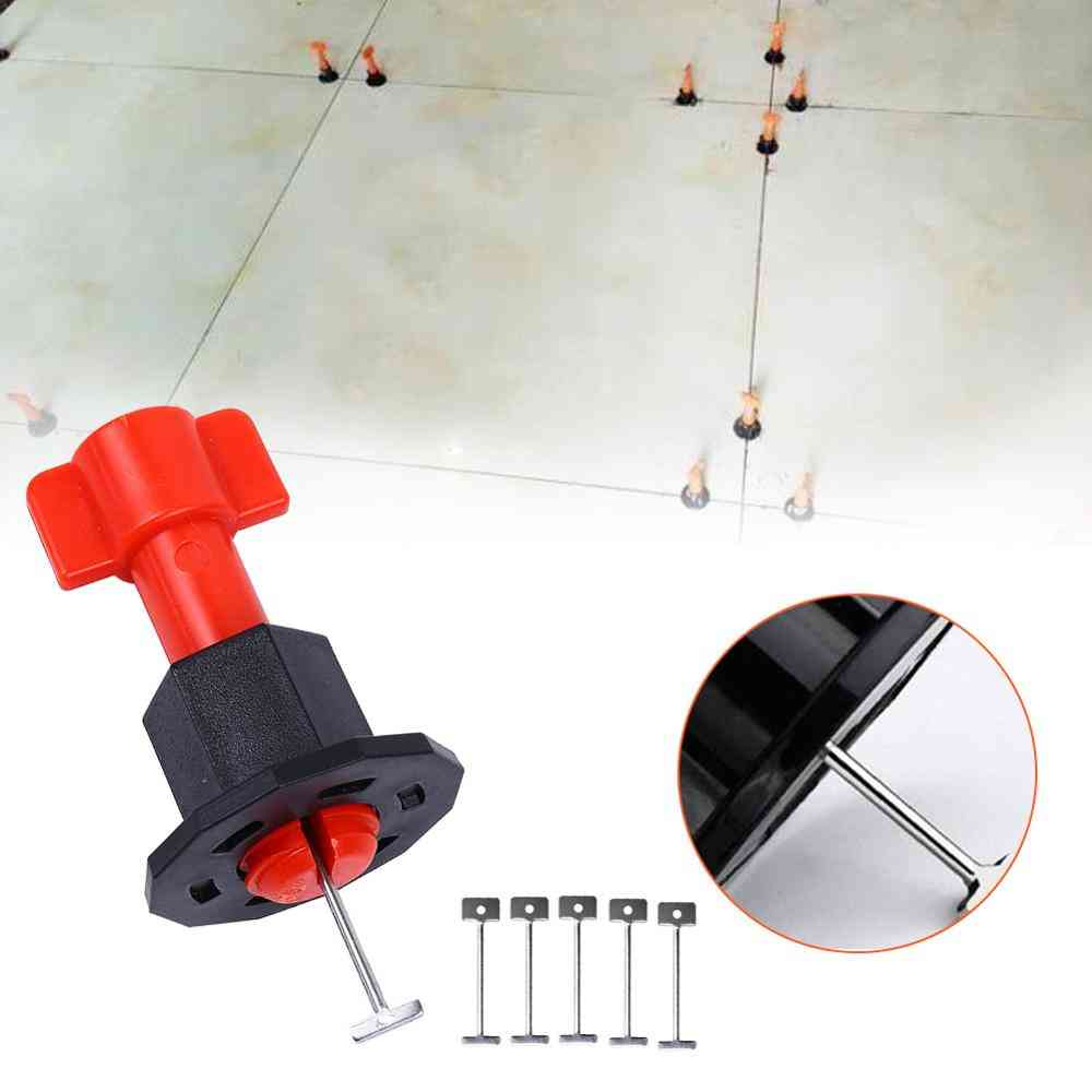 Replacement Steel Needles, Flooring Wall Tiles, Leveling System, Replaceable Steel Needles, Reusable Tile Installation Tools