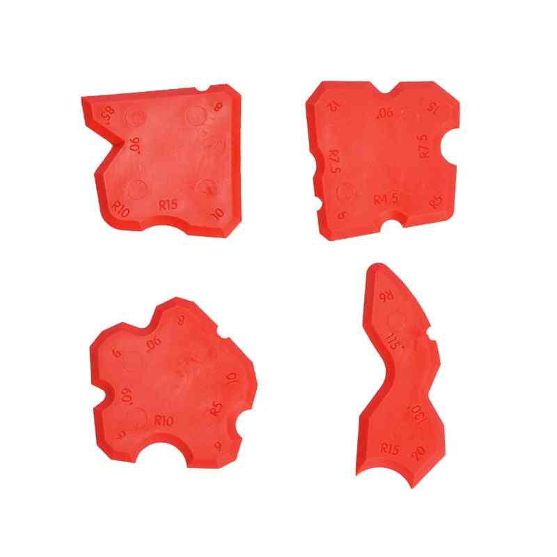 Grouting Sealant Silicone Profiling Applicator, Caulk Tool For Tile, Grout Edge-remover, Scraper, Hand Tool Set