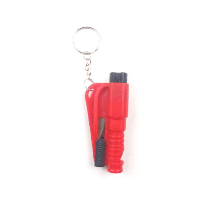 Spike Cone Mini Window Breaker Protection Key Chain / Safety Hammer