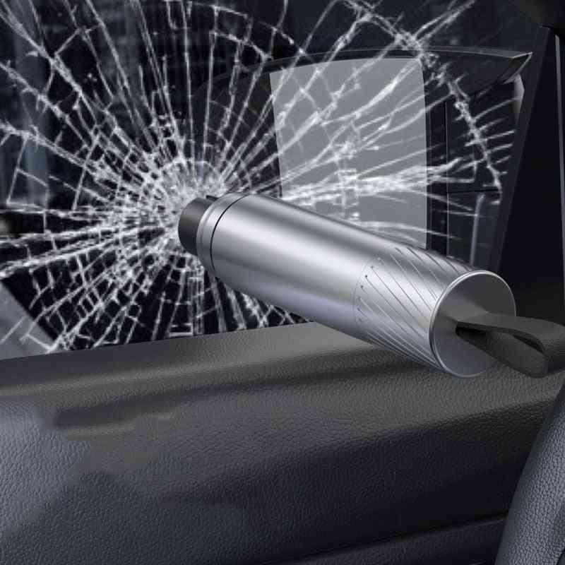 Emergency Glass Breaker Seat Belt Cutter Car Outdoor Self Defense Edc Tool