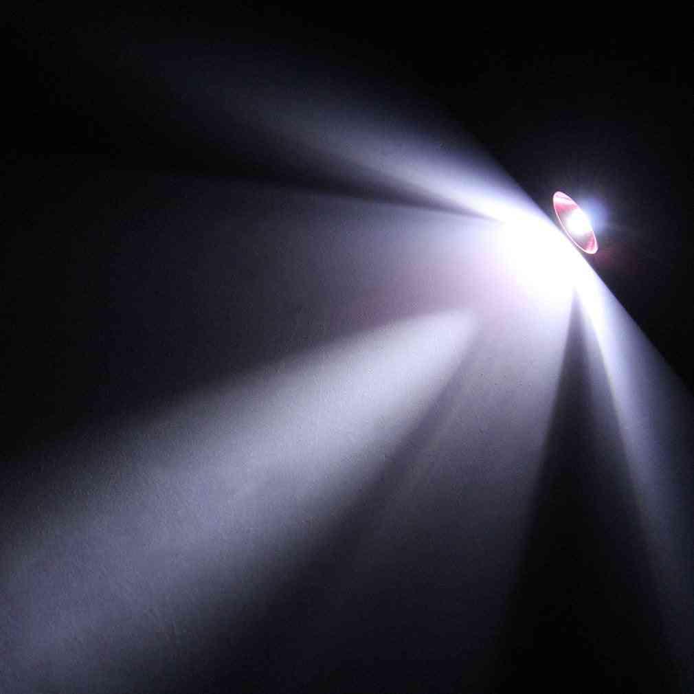Aluminum Keychain Keyring Led Light Self Defense Torch Lamp