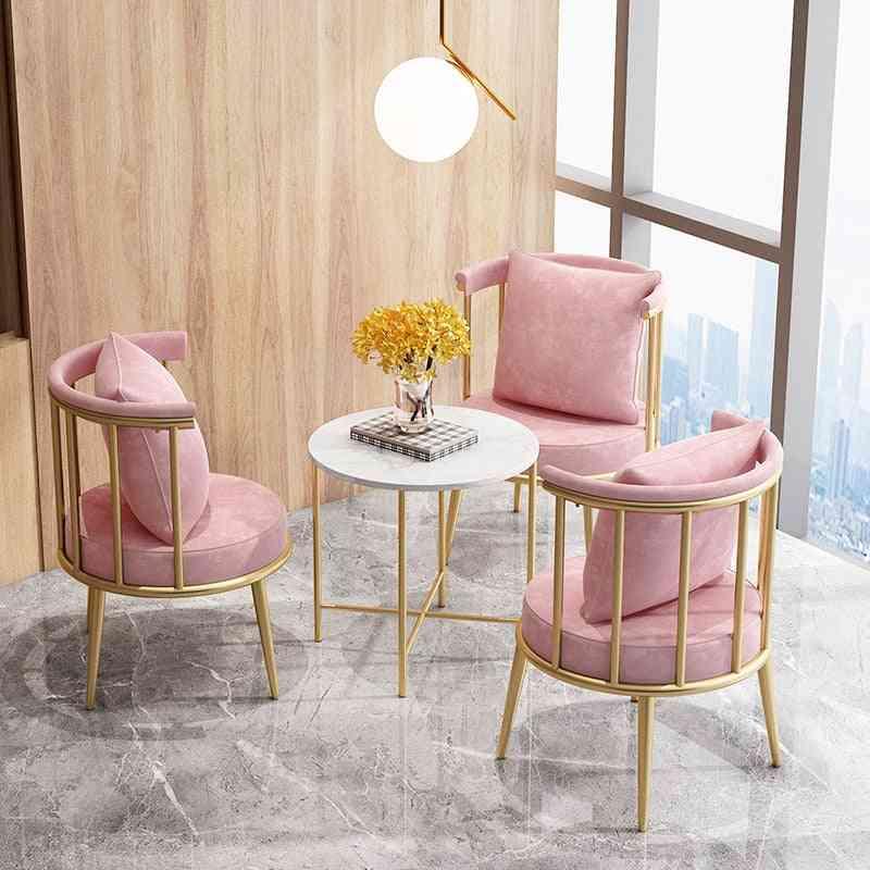 Modern Leisure Dining Makeup Dresser Chair