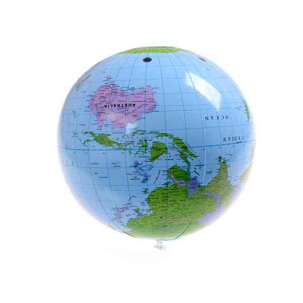 Early Educational Inflatable Earth World Geography Globe