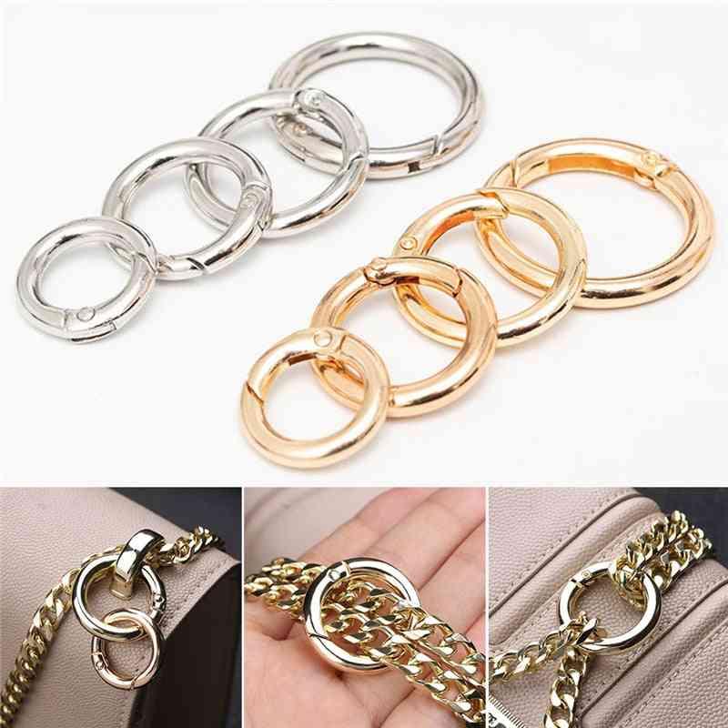 Spring O-ring Buckles Clips, Carabiner Purses Handbags