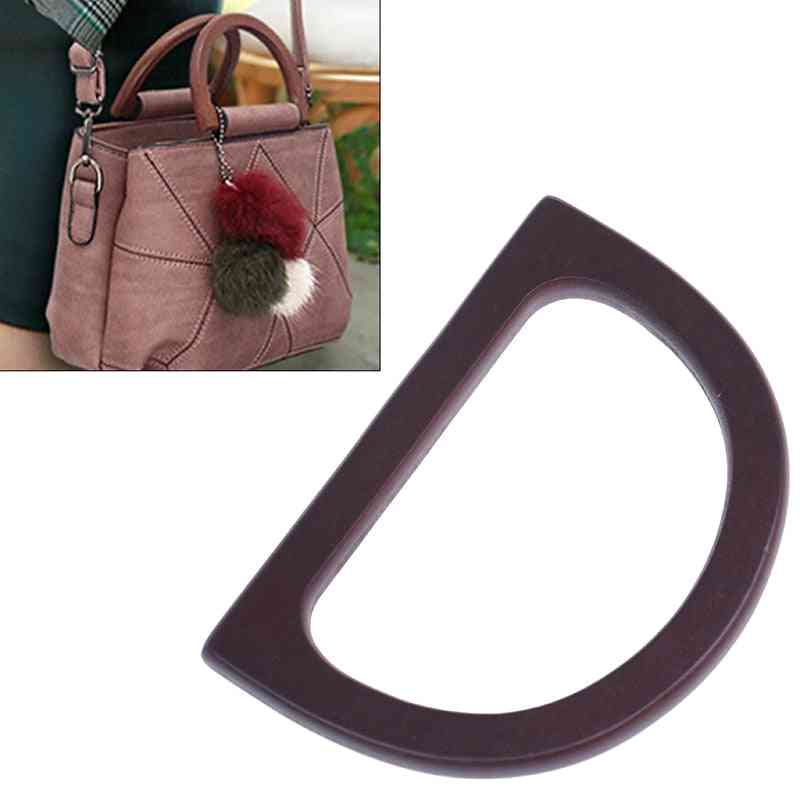 Wooden Bag, Handle Replacement Diy Purse Bag Accessories