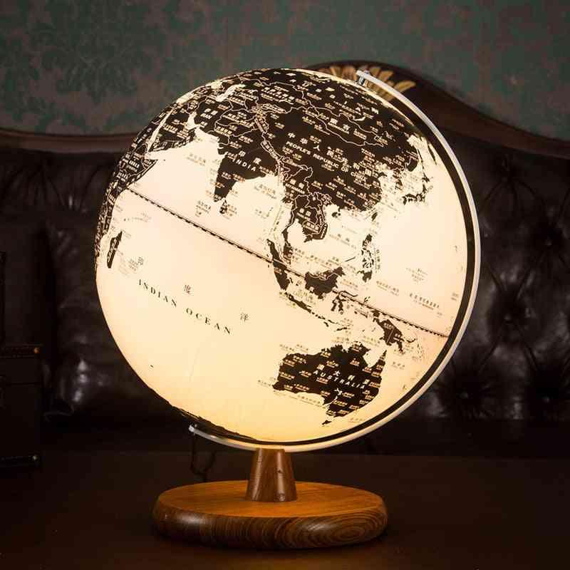 World Map Earth Globe