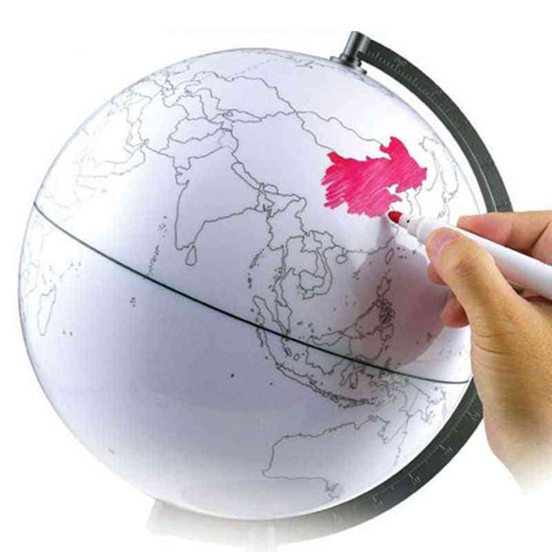 Hot Sale Paintable And Erasable Globe