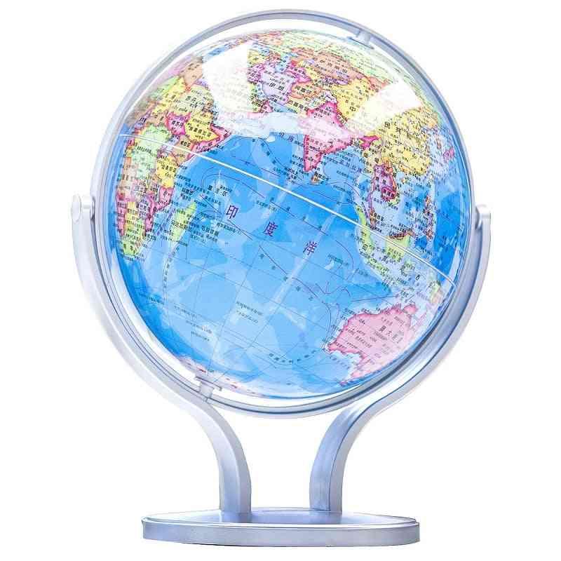 Terrestrial World Globe Earth Ocean Map Geography