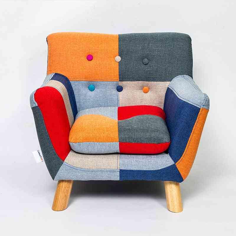 Modern Kids Sofa Couch Armrest Chair
