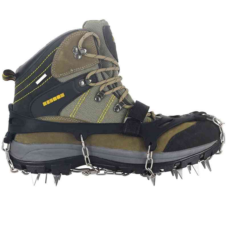 Stainless Steel Anti Slip Ice Snow Shoe Boot Grips, Traction Cleats, Crampon Spikes