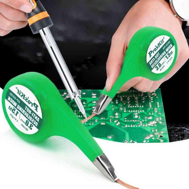 De Soldering Wick Braid Solder Remover Vacuum Sucker