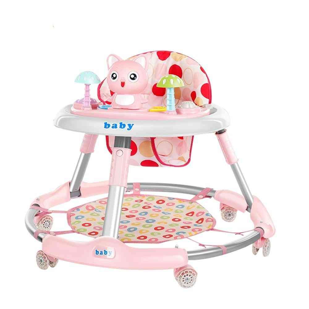 Foldable Baby Walker With Wheel