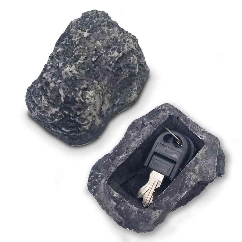 Outdoor Garden Security Key Rock Box Hidden Hide In Stone Security Safe Storage Hiding Drop Shipping